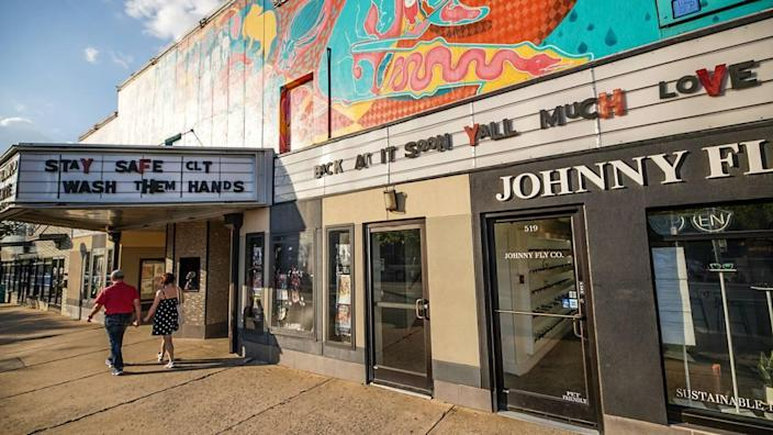 The virtual Art Auction to Save the Neighborhood Theatre will take place on the theater's Instagram page Sept. 17.