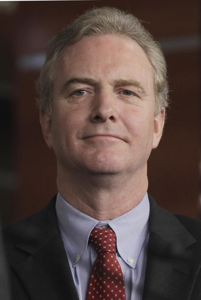 FILE - In this Jan. 4, 2011 file photo, Rep. Chris Van Hollen, D-Md., is seen on Capitol Hill in Washington. House Minority Leader Nancy Pelosi of Calif. has appointed Van Hollen and two other Democrats to Congress' new debt-reduction supercommittee, completing the 12-member panel's roster.(AP Photo/Charles Dharapak, File)