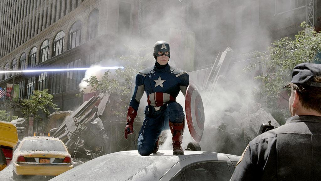 """CAPTAIN AMERICA<br><a href=""""http://movies.yahoo.com/2012-summer-movies/marvel-avengers-235819875.html"""">""""Marvel's The Avengers""""</a><br>Grade: A<br>How could we grade Chris Evans any lower? (Am I right, ladies!?) But seriously, like Thor, Captain America got an update for """"Avengers,"""" mainly because he went from living in the '40s to fighting to save the world in present time."""