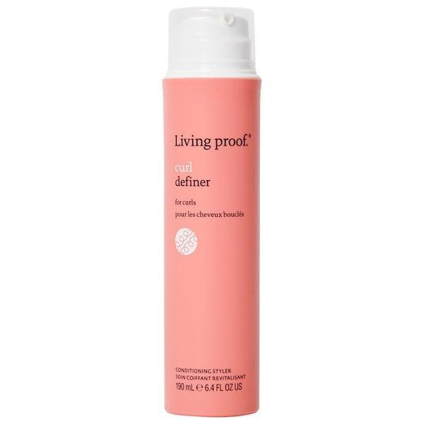 <p>This <span>Living Proof Curl Definer</span> ($34) helps create bouncy ringlets thanks to a hydrating conditioning base and a curl-controlling resin blend.</p>