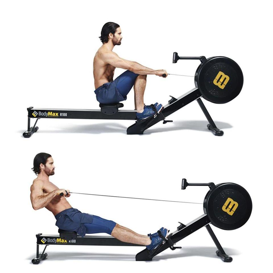<p>Always row with intent. Make sure that you drive all the power through your legs, with only a final pull with the arms. Think of it as 70% legs and 30% arms. Control your breathing and keep your stroke rate consistent. Make each pull count.</p>