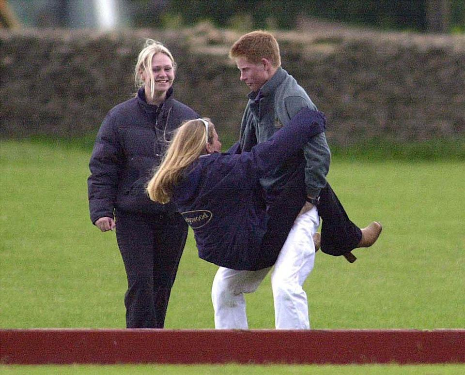 <p>Don't worry, there was also this straddling moment. Which is somehow not Prince Harry's finest hour, but also manages to be the best thing ever?</p>