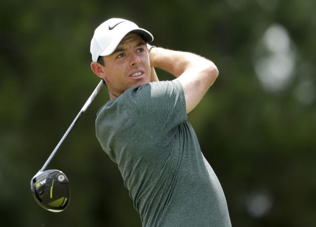 "<a class=""link rapid-noclick-resp"" href=""/pga/players/8016/"" data-ylk=""slk:Rory McIlroy"">Rory McIlroy</a> says he has a heart ailment that will have to be monitored regularly but is not expected to affect his play. (AP Photo)"