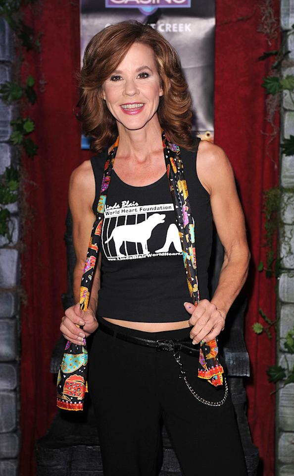 """January 22: Linda Blair turns 52 Larry Marano/<a href=""""http://www.gettyimages.com/"""" target=""""new"""">GettyImages.com</a> - October 23, 2010"""