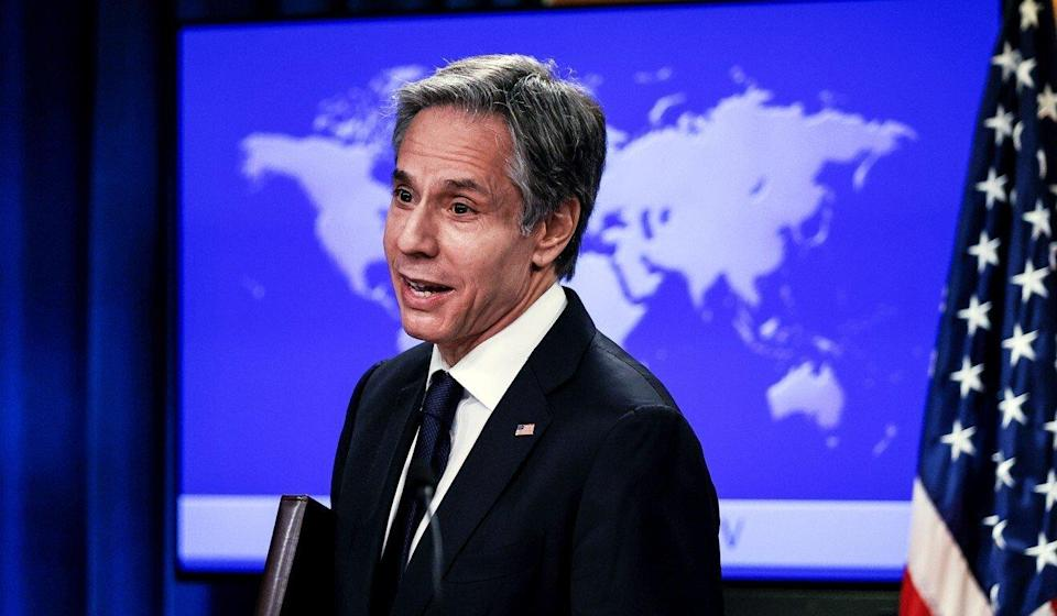 "US Secretary of State Antony Blinken says there have been ""adversarial aspects"" to the US-China relationship. Photo: AP"