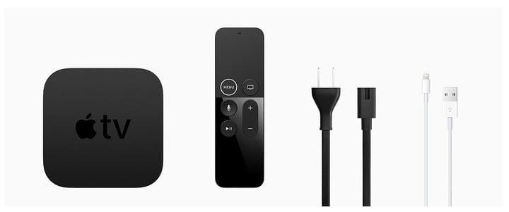 how to set up apple tv 4k what is in the box
