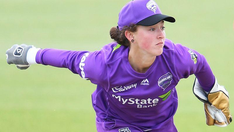Hobart Hurricanes wicketkeeper Emily Smith's ban has come under heavy criticism.