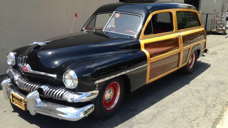 Roll With This 1951 Mercury Woody Wagon