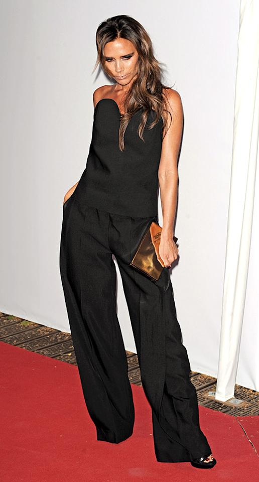 LONDON, UNITED KINGDOM - JUNE 04: Victoria Beckham sighting at the Glamour Women of the Year Awards Berkeley Square Mayfair on June 4, 2013 in London, England. (Photo by Alan Chapman/FilmMagic)