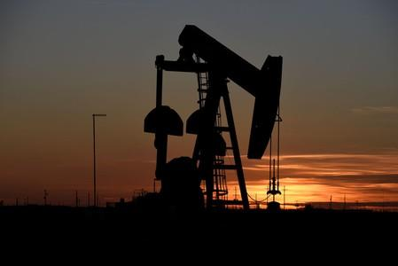 Oil eases as Fed's Jackson Hole meeting gets underway