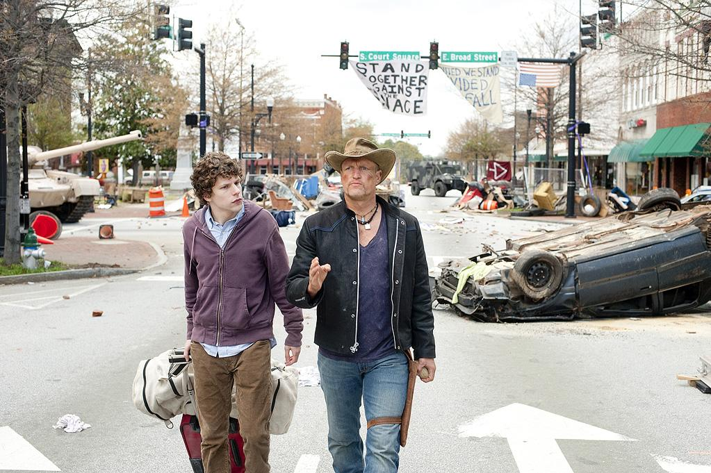 """<a href=""""http://movies.yahoo.com/movie/1810061263/info"""">ZOMBIELAND</a>   Starting Point: Garland, TX   Ending Point: Los Angeles   Goal: Go to an LA-based amusement park. Maybe not the best idea when the country is swarming with zombies, but you got to get your kicks some how.   Snags: Zombies. Zombies. A distinct lack of Twinkies. And more zombies."""