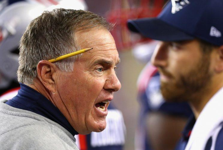 Bill Belichick seems to be playing chess while everyone else is figuring out checkers. (Getty Images)