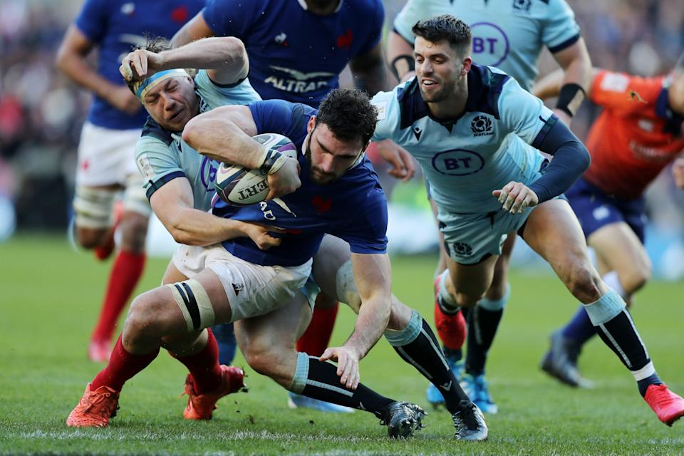 <p>Captain Charles Ollivon is among the France players to have tested positive for Covid</p> (Getty Images)