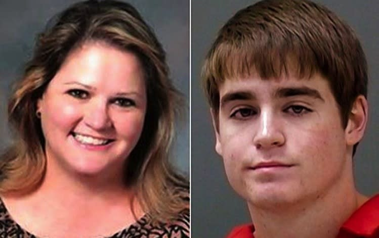 Florida pitching prospect Brandon Aydelott (right) allegedly confessed to murdering his mother Sharon (left) -- New York Daily News