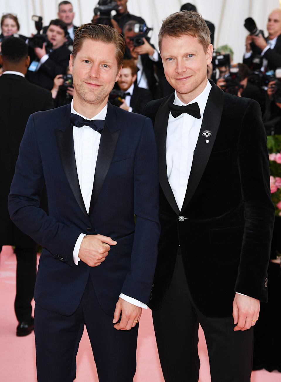 """<h1 class=""""title"""">Christopher Bailey and Simon Woods</h1><cite class=""""credit"""">Photo: Getty Images</cite>"""