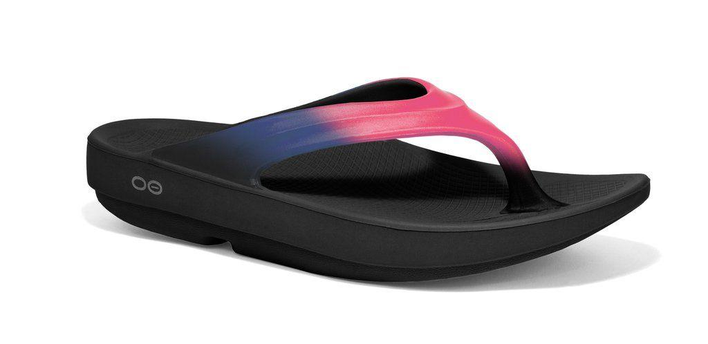 """<p><strong>BUY NOW: </strong><em>$60, </em><em><a rel=""""nofollow"""" href=""""https://shop.nordstrom.com/s/oofos-oolala-sandal-women/4686963"""">nordstrom.com</a> </em><span></span></p><p>After a long run, she'll look forward to slipping on these """"recovery"""" flip flops from Oofos. These comfy soles reduce stress on sore feet, knees, and back. Bonus: they're machine washable!</p><p><a rel=""""nofollow"""" href=""""https://www.oofos.com/collections/womens-oolala-sandal/products/copy-of-womens-oolala-sandal-flamingo?variant=28101518921""""></a></p>"""