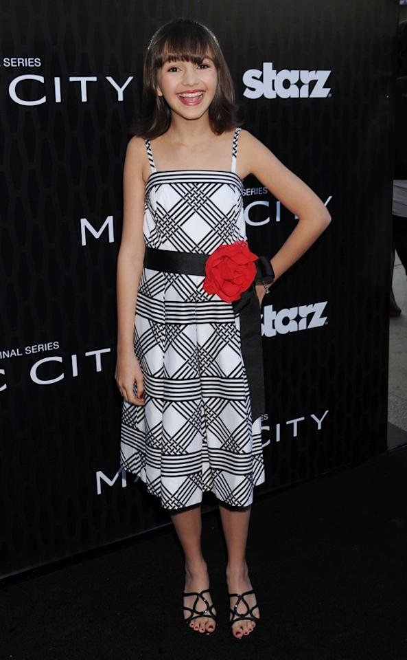 """Taylor Blackwell attends the Starz '<a target=""""_blank"""" href=""""http://tv.yahoo.com/magic-city/show/46996"""">Magic City</a>' Los Angeles Series Premiere at Directors Guild Of America on March 20, 2012 in Los Angeles, California."""