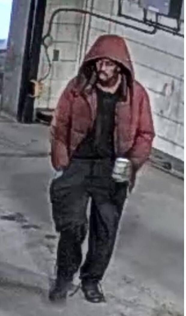 Toronto police are asking for help identifying this man, who allegedly exposed himself in the parking garage of Toronto General Hospital. (Toronto Police Service handout - image credit)