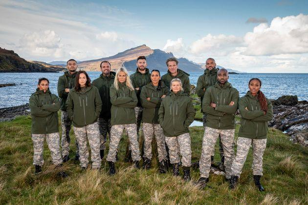 The cast of Celebrity SAS: Who Dares Wins (Photo: Channel 4)