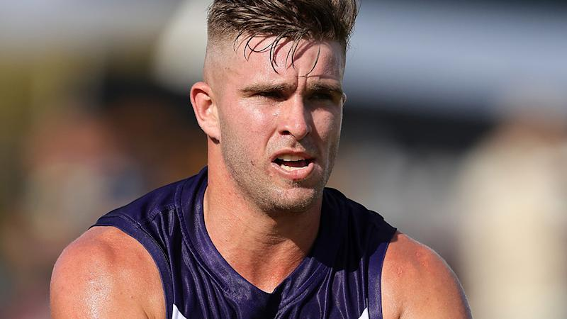 Luke Ryan, pictured here in action for the Fremantle Dockers earlier in 2020.
