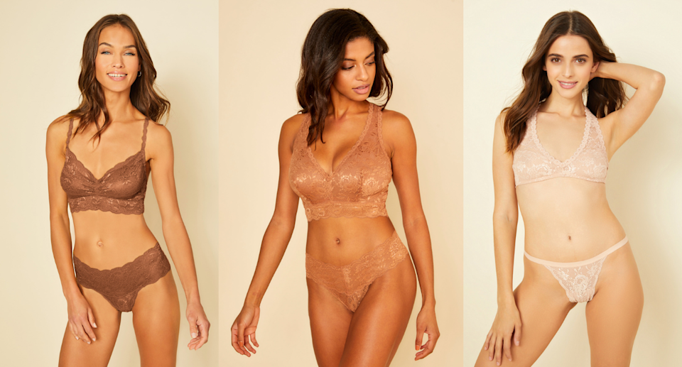 Looking for a bralette to match your skin tone? We put Cosabella's new Never Say Never Bralette to the test (Photos via Cosabella)