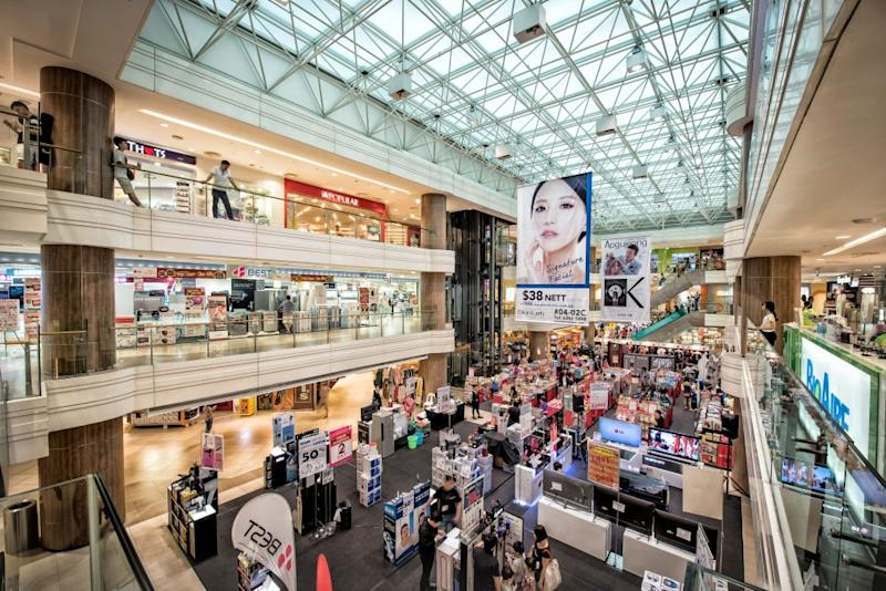 Junction 8 is part of CapitaLand's shopping mall network. (PHOTO: CapitaLand)