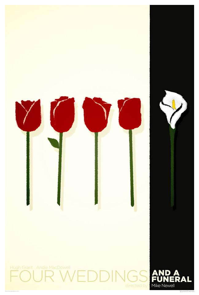 """<a href=""""http://movies.yahoo.com/movie/1800206599/info"""">FOUR WEDDINGS AND A FUNERAL</a>"""
