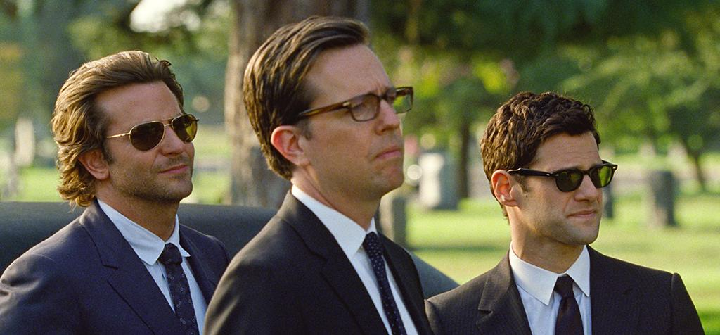"""Bradley Cooper, Ed Helms and Justin Bartha in Warner Bros.' """"The Hangover Part III"""" - 2013"""