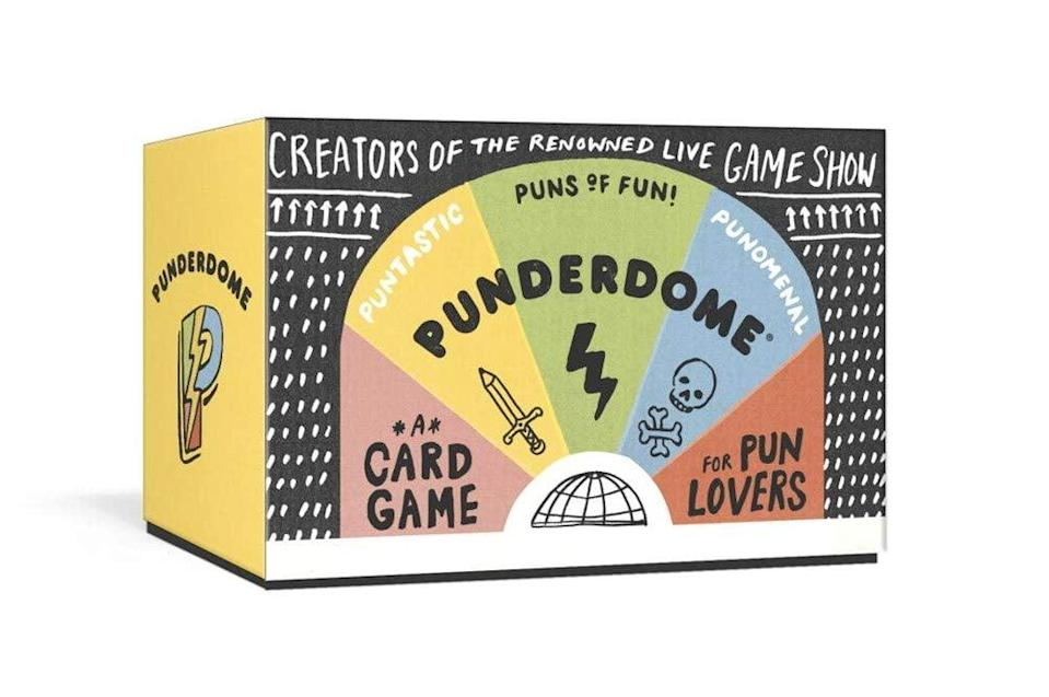 <p>The <span>Punderdome: A Card Game for Pun Lovers</span> ($14, originally $20) is perfect for the punny people in your life.</p>