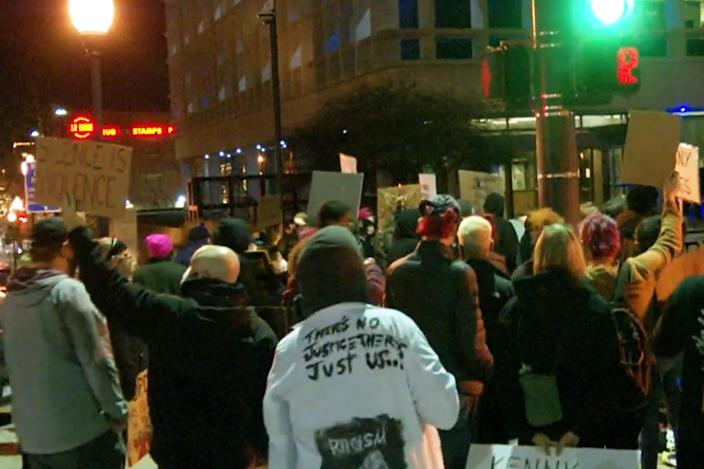 Protests erupt in Omaha after fatal police shooting of a Black man