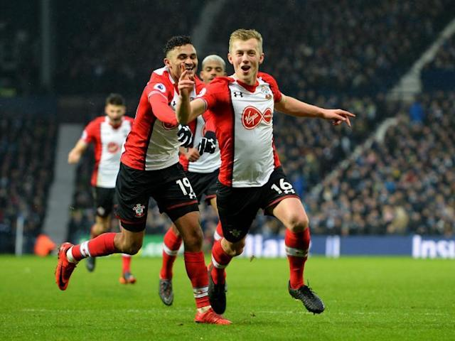Southampton secure crucial victory to move out of relegation zone after frantic showdown at West Brom