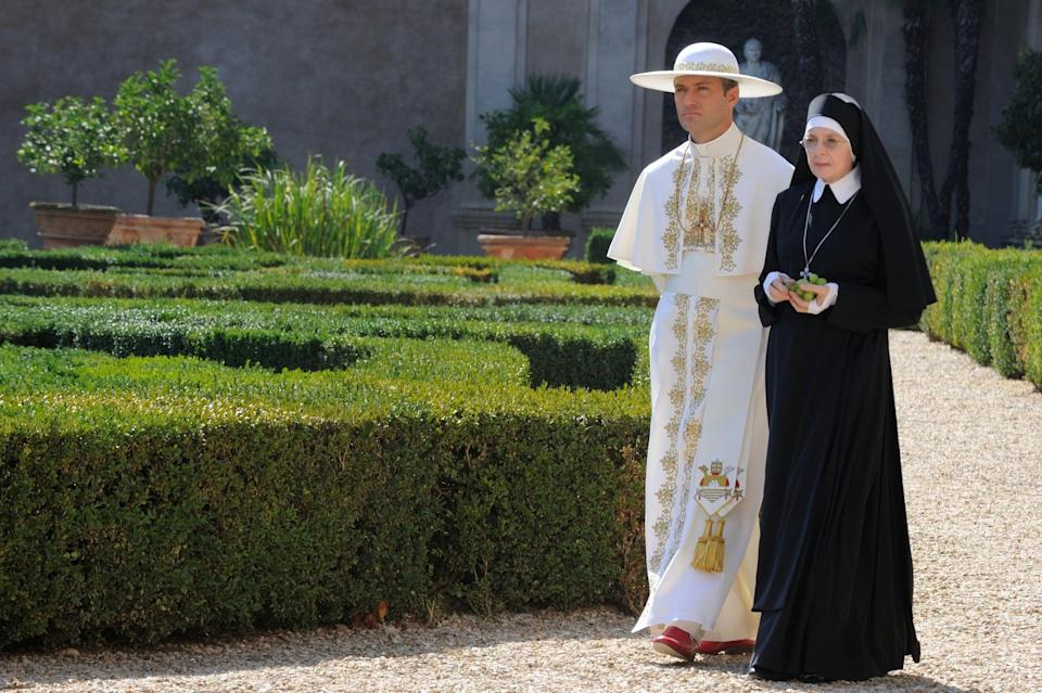 <p><strong>For Sister Mary:</strong> A nun's habit and tinted glasses.</p> <p><strong>For Lenny:</strong> A white pope costume complete with hat.</p>