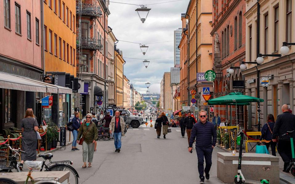 Sweden has been an outlier in its approach to Covid-19 - AFP