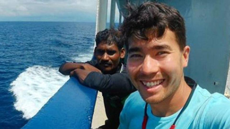 There is now a tense stand-off to try and retrieve Mr Chau's body. Image: Instagram/John Allen Chau