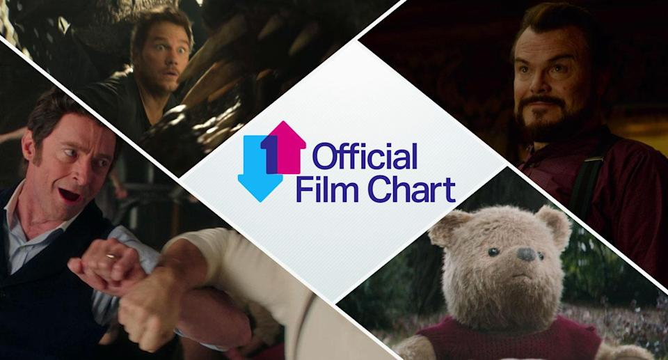 The Official Film Chart weekly chart show counts down the Top 10 biggest selling films on disc and download for the week, with bonus footage from the upcoming release <i>The House with a Clock in Its Walls</i> on digital download, Blu-ray, and DVD.