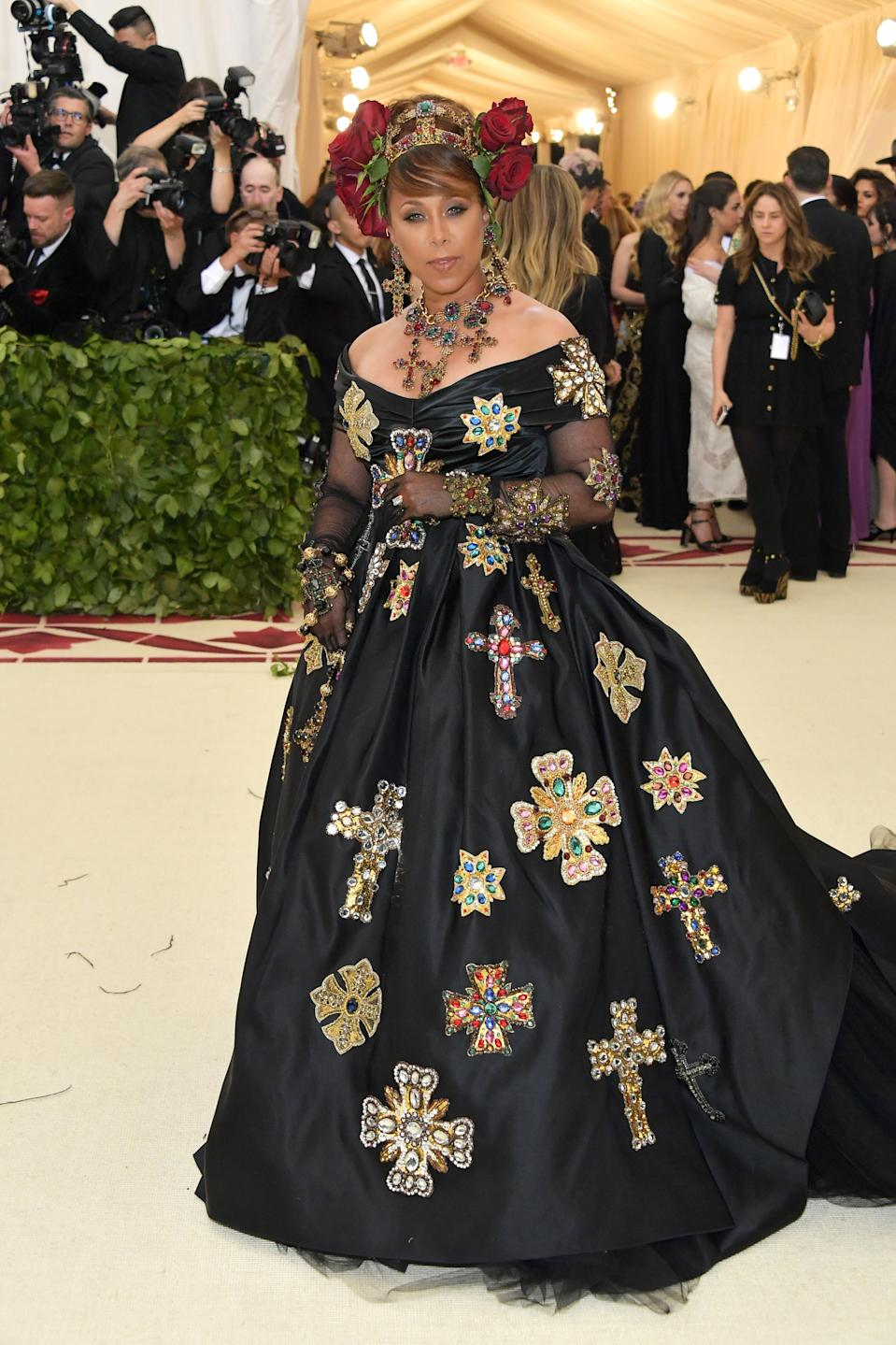 """<h1 class=""""title"""">Marjorie Harvey in Dolce & Gabbana</h1><cite class=""""credit"""">Photo: Getty Images</cite>"""