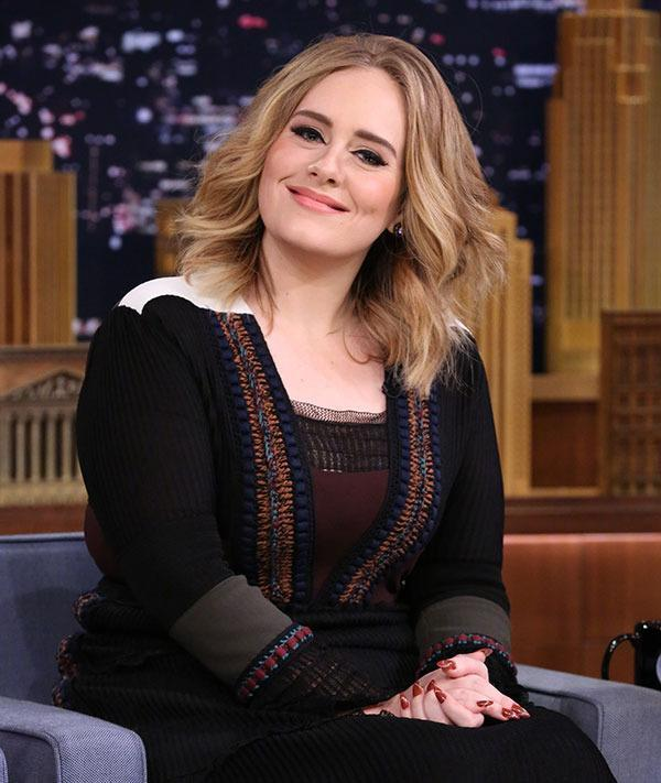 <br>Adele debuted a new chic 'do when she performed 'Hello' on the <i>X Factor U.K.</i> overnight...