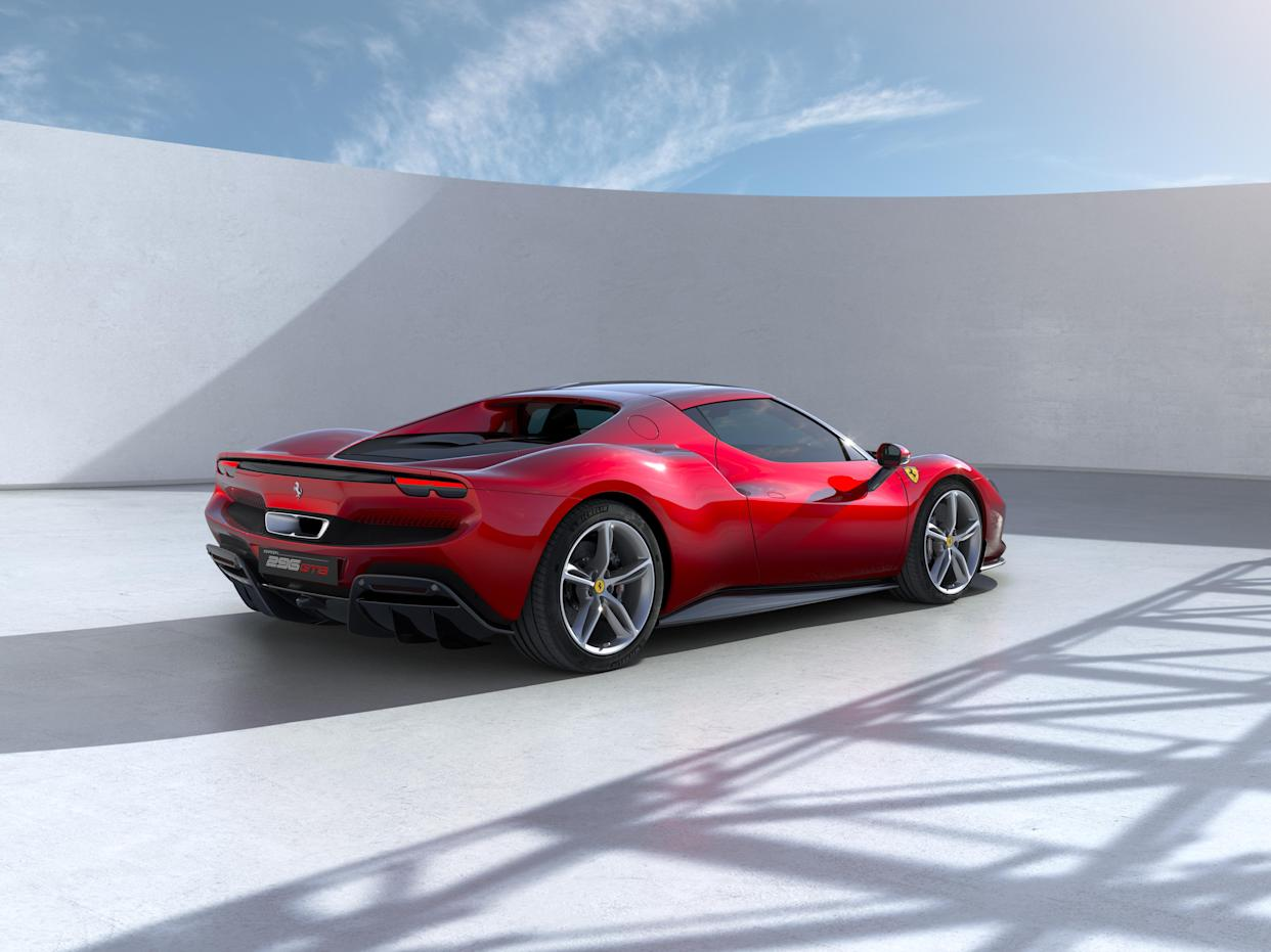 The 296 GT is designed to supplement the rest of the Ferrari line-up.