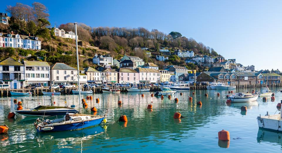 The Cornish fishing village of Looe also made the top 10 (Getty)
