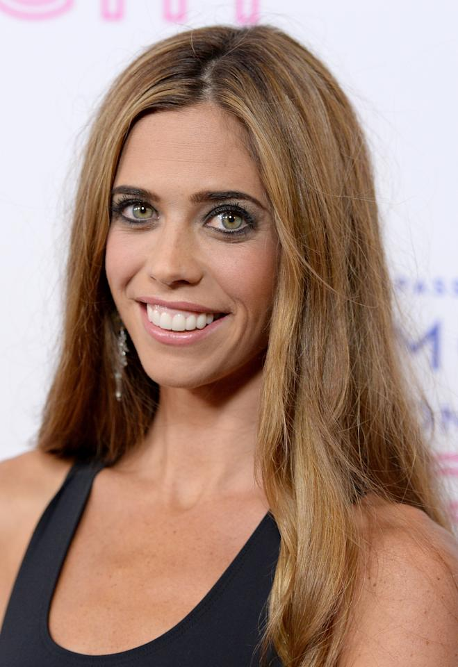 """LOS ANGELES, CA - SEPTEMBER 12: TV Personality Lydia McLaughlin attends Glamorama """"Fashion in a New Light"""" benefiting AIDS Project Los Angeles presented by Macy's Passport at Orpheum Theatre on September 12, 2013 in Los Angeles, California. (Photo by Michael Kovac/Getty Images for Macy's)"""