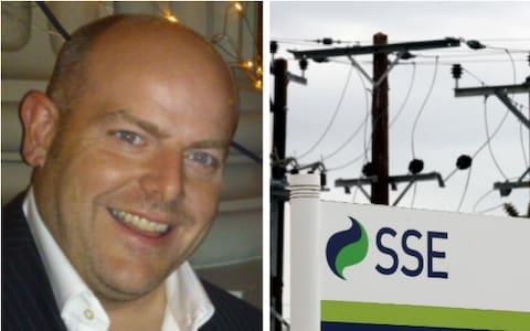 <span>Colin Banks, SSE's Head of Sponsorship</span>