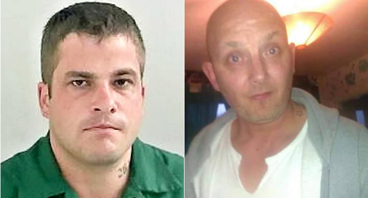 Nathan Calder (L) stabbed Paul Lundy to death after he allegedly exposed himself (Picture: SWSN/Facebook)