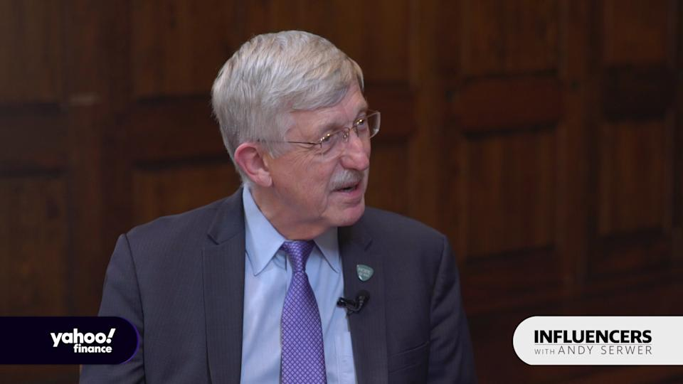 Francis Collins, the director of the National Institutes of Health, appears on Influencers with Andy Serwer