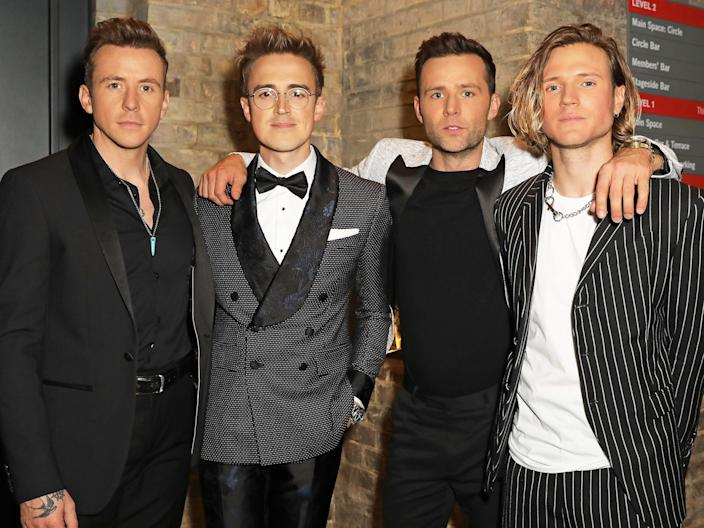 McFly in October 2019
