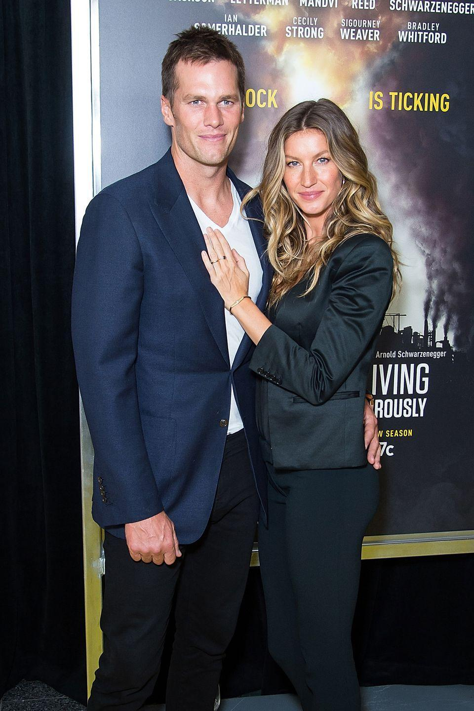 <p>It's not <em>too</em> strange that a hunky NFL player and a gorgeous former Victoria's Secret Angel both have similarly flawless bone structure and skin. But their coloring is also close enough that the married pair and parents of two could easily pass for siblings. </p>