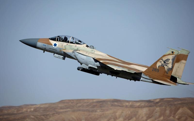 Israeli aircraft hit three Hizbollah arms depots south of Damascus - REUTERS