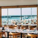 """<p>Looking for a super-sleek hotel outside London where you can make a quick getaway for refreshing sea air and a seriously good food-fest? Rocksalt Rooms has you covered. With seasonal menus by Michelin-starred chef Mark Sargeant, seaside views, expansive windows and contemporary coastal chic, it's a corker of an easy break from the city.</p><p><strong>Distance from London by train: </strong> The high-speed train between London St Pancras and Folkestone Central takes 55 minutes, and then a five-minute cab ride to the hotel.</p><p><a href=""""https://www.redescapes.com/offers/kent-folkestone-rocksalt-hotel"""" rel=""""nofollow noopener"""" target=""""_blank"""" data-ylk=""""slk:Read our review of Rocksalt Rooms"""" class=""""link rapid-noclick-resp"""">Read our review of Rocksalt Rooms</a></p><p><a class=""""link rapid-noclick-resp"""" href=""""https://go.redirectingat.com?id=127X1599956&url=https%3A%2F%2Fwww.booking.com%2Fhotel%2Fgb%2Frocksalt-rooms.en-gb.html%3Faid%3D2070929%26label%3Dhotels-outside-london&sref=https%3A%2F%2Fwww.redonline.co.uk%2Ftravel%2Finspiration%2Fg34469437%2Fhotels-outside-london%2F"""" rel=""""nofollow noopener"""" target=""""_blank"""" data-ylk=""""slk:CHECK AVAILABILITY"""">CHECK AVAILABILITY</a></p>"""