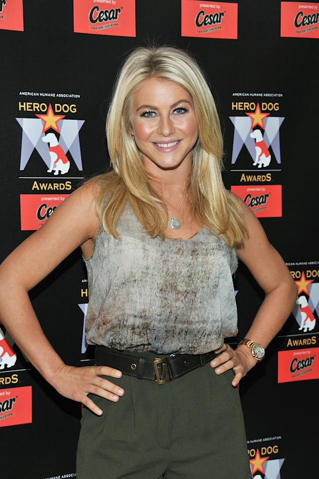 "Former ""Dancing With the Stars"" pro Julianne Hough turns 23. Slaven Vlasic/<a href=""http://www.gettyimages.com/"" target=""new"">GettyImages.com</a> - June 20, 2011"