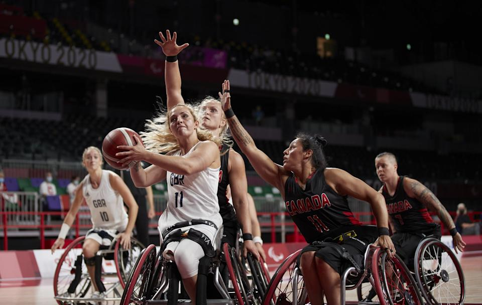 ParalympicsGB's women's wheelchair basketball squad fell to Canada on Wednesday (Picture: Imagecomms)