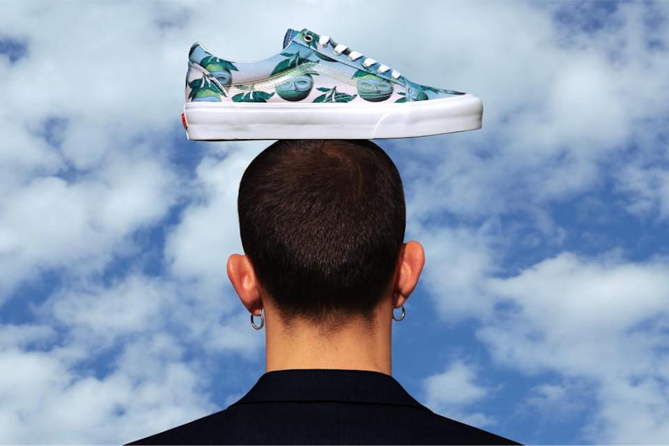 opening ceremony x vans, magritte opening ceremony, surreal shoes